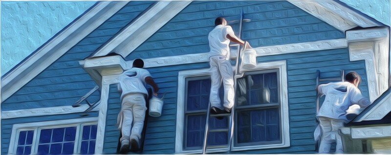 Exterior house painting paint contractor in bradenton fl for Painting inside a house