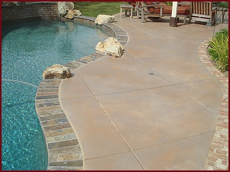 Concrete Pool Deck Finishes Fascinating Pool Deck Painting  Paint Contractor In Bradenton Fl  Tsi Of